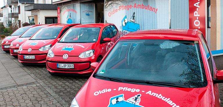 O-P-A - Oldie-Pflege Ambulant - Bielefeld